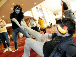 Vriska: Torture Tavros. by QPUPcosplay