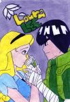 loura x rock lee by anglerock