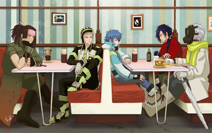 DMMd Quintet by chienu