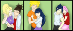 Naruto Couples by KaiyaMaiKagami