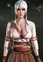 Ciri from Witcher 3 upload by KensaiAkamei
