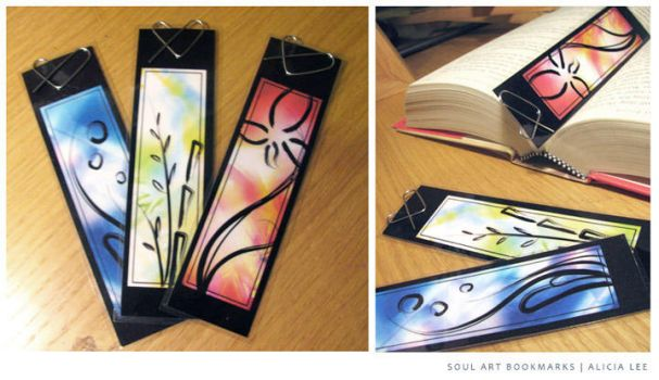 Soul Art Bookmarks by alicia-lee