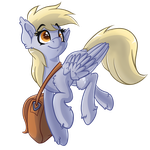 Derp Horse at No Particular Time by WitchTaunter
