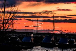 Project 365 - 072 - This Sky Is On Fire! by jguy1964