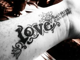 To Write Love on Her Arms by Estel-eAist