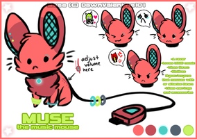+. Muse the Music Mouse .+ by DawnValentine101
