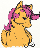 Scootaloo (Grown Up) by bootsa81
