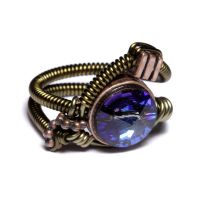 Steampunk Jewelry Ring Bermuda by CatherinetteRings