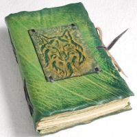 Wolf Notebook by gildbookbinders