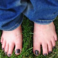 Feet In Grass by Miss-Ava-Rose