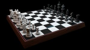 3D Chess Set - Cinema 4D by cytherina
