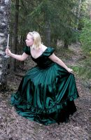 Princess in the Forest 3 by Eirian-stock