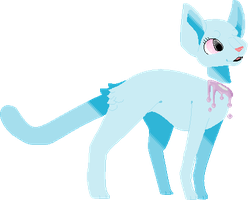 Pastel Cat by T0SHII