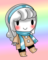 chibi snowy by saltycuccumbers