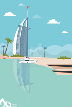 Dubai Ae vector by axd1992