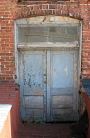 Old door stock by fatherofalllies