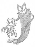 Okage The Shadow King by rongs1234