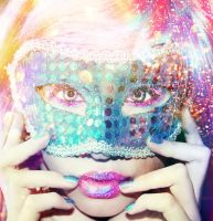 Glitter girl. by xJNFR