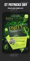 St. Patricks Day Flyer Template by ImperialFlyers