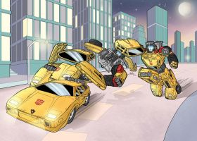 Sunstreaker to Lamborghini by J-Rayner