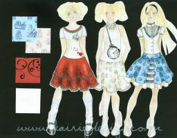 The Wonderland Collection by kairi-g