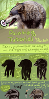 Realistic Wolf Painting Tutorial Part 1! by Marsduck
