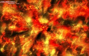 Fire Abstract by b3h1ndu