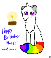 Happy Birthday Moss!!! by witcher-fox