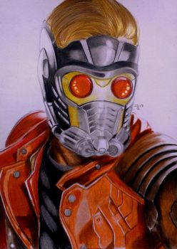 Star-Lord by pint-sizedsurprise17