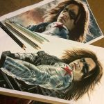 Winter Soldier WIP #2 by Tabitha138