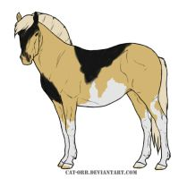 Horse Adoptable 12 by Banana-Stoner-Stable