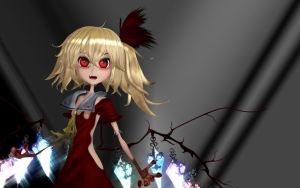 Deformed Creepytime Flandre! by Primantis