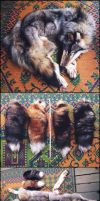 LS Wolf Pelt, Wolf Paws, and Jumbo Fox tails SALE! by Brillyent-Blondie