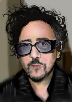 Mr.Tim Burton by dearadrianne