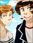 Larry Stylinson by lainykins