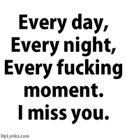 I miss you :( by Lifes-what-u-make-it