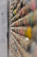wall of cans by Rozina
