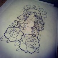 Gypsy Girl Client Request Pretty Grotesque by heartsandanchors