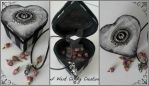 HANDMADE - Claddagh Love Box by IWantCandyCreation