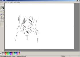 Drawing Jeff The Killer by TheMidnightNightmare