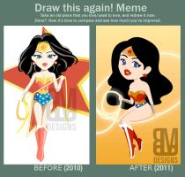 VECTOR: Draw this again meme by radiant-suzuka