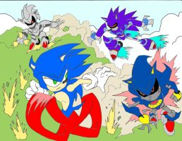 'There is only one Sonic...' by NickinAmerica
