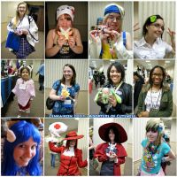 Adopters at Zenkaikon 2011 by Lithe-Fider