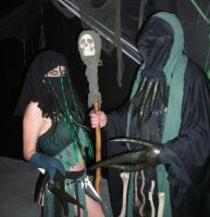 Halloween 2010 cultists by silverfaction