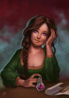 Commission: Esmee by JuneJenssen
