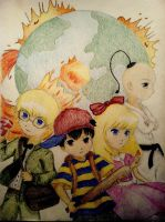 EarthBound by Lavendulan