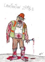 Construction zombie by gollum42