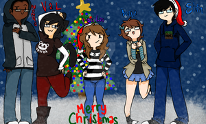 Merry Christmas to my Bbys by Lea-Loo