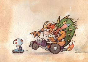 VIDEOGAMES: Mario Kart by Crabhearst