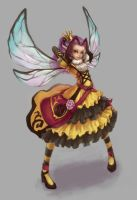 princess bee by khell-t